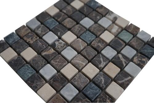 Mozaiek tegel marmer 15x15cm M665-15 Topmozaiek24