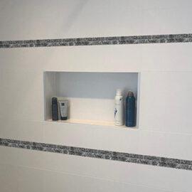 12. Blue Pearl 2,3 - Badezimmer Streifen