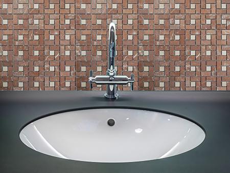 15. M524 - Badezimmer Vorderansicht