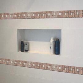 15. B524 - Streifen Badezimmer