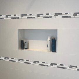 M014 - Badezimmer Streifen