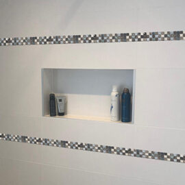 B665 - Badezimmer Streifen