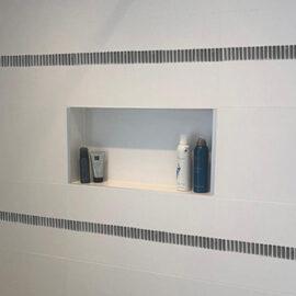 B035 - Badezimmer Streifen vertikal