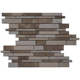 Mozaiek tegel marmer bruin