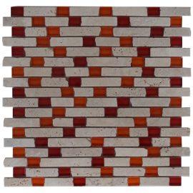 Mozaiek tegel marmer glas 30x30cm M558 Topmozaiek24
