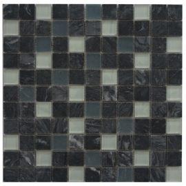 Mozaiek tegel marmer glas 30x30cm M674 Topmozaiek24