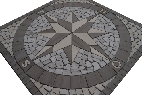 Mozaiek tegels medallion 045 Topmozaiek24