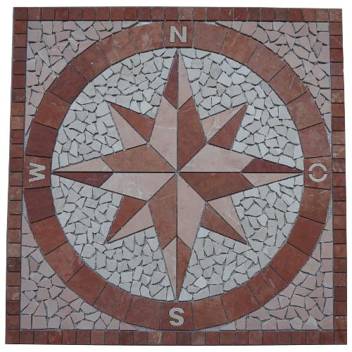 Mozaiek tegels medallion 047 Topmozaiek24
