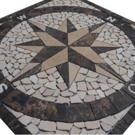Mozaiek tegels medallion 048 Topmozaiek24