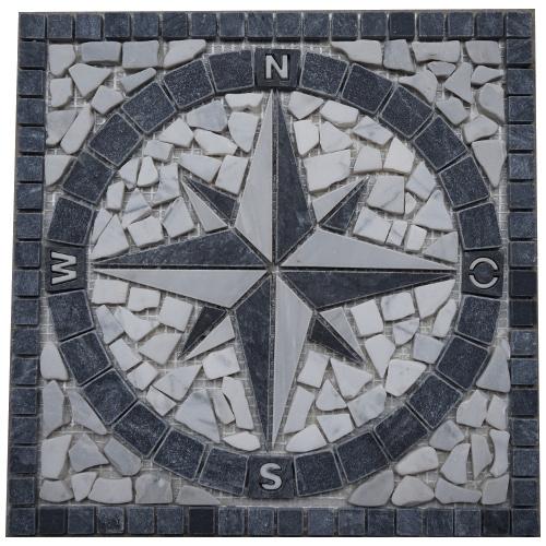 Mozaiek tegels medallion 30x30cm 025 Topmozaiek24