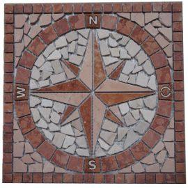 Mozaiek tegels medallion 30x30cm 026 Topmozaiek24
