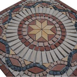 Mozaiek tegel medallion 60x60cm 015 Topmozaiek24