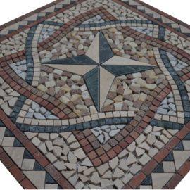 Mozaiek tegels medallion 66x66cm 038 Topmozaiek24