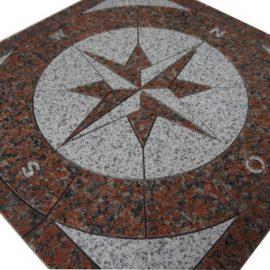 Mozaiek tegel medallion 67x67cm 035 Topmozaiek24