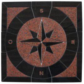 Mozaiek tegel medallion 67x67cm 036(3) Topmozaiek24