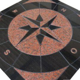 Mozaiek tegel medallion 67x67cm 037 Topmozaiek24