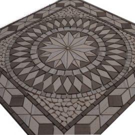 Mozaiek tegels medallion 67x67cm 056 Topmozaiek24