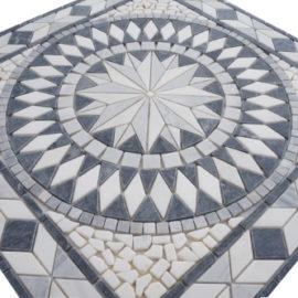 Mozaiek tegel medallion 67x67cm 057 Topmozaiek24
