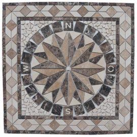 Mozaiek tegel medallion 67x67cm 058 Topmozaiek24