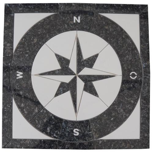 Mozaiek tegels medallion 67x67cm 059 Topmozaiek24