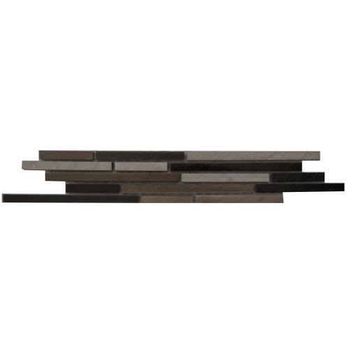 Mozaiek tegelstrip aluminium 5x30cm B810 Topmozaiek24
