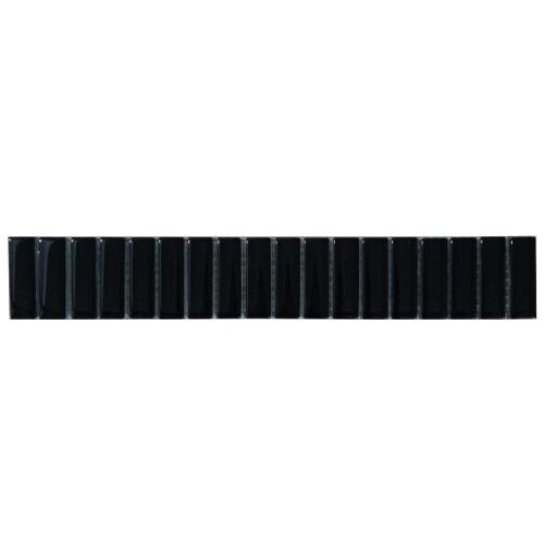 Mozaiek tegelstrip glas 5x30cm B035-V Topmozaiek24