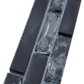 Mozaiek tegelstrip glas 5x30cm B530 Topmoziaek24