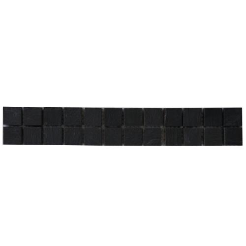 Mozaiek tegelstrip leisteen 5x30cm B039 Topmozaiek24