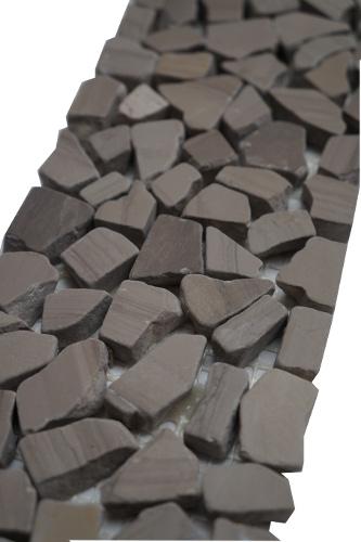 Mozaiek tegelstrip marmer 10x30cm B489 Topmozaiek24