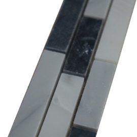Mozaiek tegelstrip marmer 5x30cm B014 Topmozaiek24