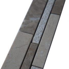 Mozaiek tegelstrip marmer 5x30cm B036(2) Topmozaiek24