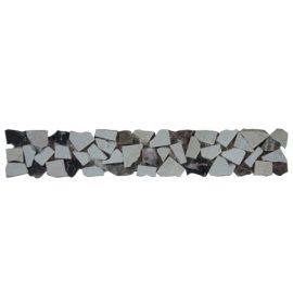 Mozaiek tegelstrip marmer 5x30cm B480 Topmozaiek24