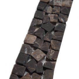 Mozaiek tegelstrip marmer 5x30cm B490 Topmozaiek24