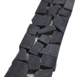 Mozaiek tegelstrip marmer 5x30cm B526 Topmozaiek24