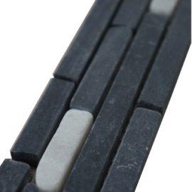 Mozaiek tegelstrip marmer 5x30cm B621(2) Topmozaiek24