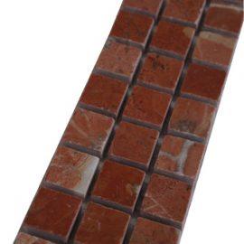 Mozaiek tegelstrip marmer 5x30cm B660 Topmozaiek24