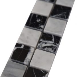 Mozaiek tegelstrip marmer 5x30cm B661(2) Topmozaiek24