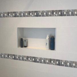 b518 Streifen Badezimmer