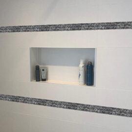 11. Blue Pearl 1,5 - Streifen Badezimmer