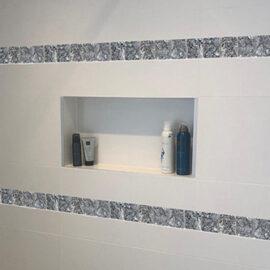 8 pearl 4.8 Streifen Badezimmer