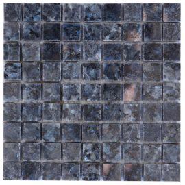 Mozaiek tegel graniet 15x15cm Blue Pearl M044-15 Topmozaiek24
