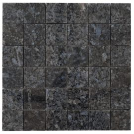 Mozaiek tegel graniet 30x30cm Blue Pearl M045-30 Topmozaiek24