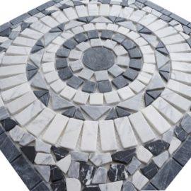 Mozaiek tegels medallion 60x60cm EM1 Topmozaiek24
