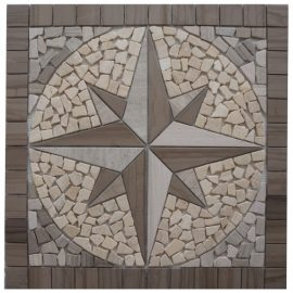 Mozaiek tegels medallion 60x60cm EM2 Topmozaiek24