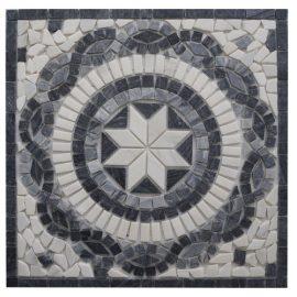 Mozaiek tegels medallion 66x66cm EM4 Topmozaiek24