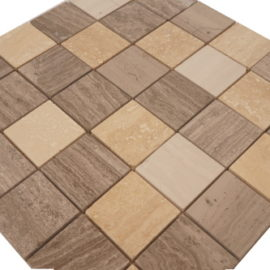 Mozaiek tegel marmer 30x30cm M043 Topmozaiek24
