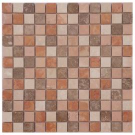 Mozaiek tegels marmer 30x30cm M667-30(1) Topmozaiek24