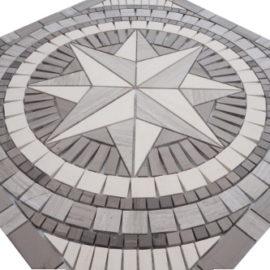 Mozaiek tegels medallion 60x60cm 069 Topmozaiek24