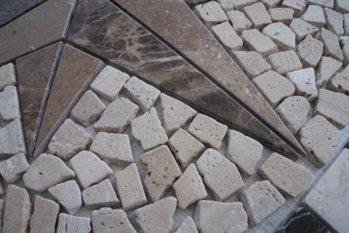 Mozaiek tegels medallion 60x60cm 073 Topmozaiek24