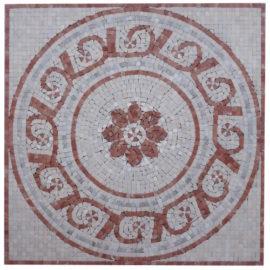 Mozaiek tegel medallion 60x60cm 075 Topmozaiek24